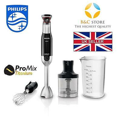 #NEW Electric Kitchen PHILIPS AVANCE HR1676/90 hand BLENDER turbo CHOPPER 800 W