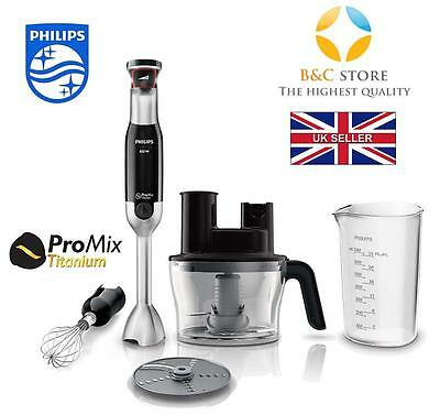 #NEW Electric Kitchen PHILIPS AVANCE HR1677/90 hand BLENDER food whisk 800 W #