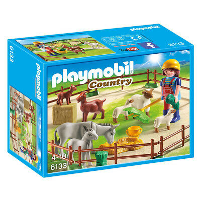 NEW Playmobil Country Life Farm Animal Pen
