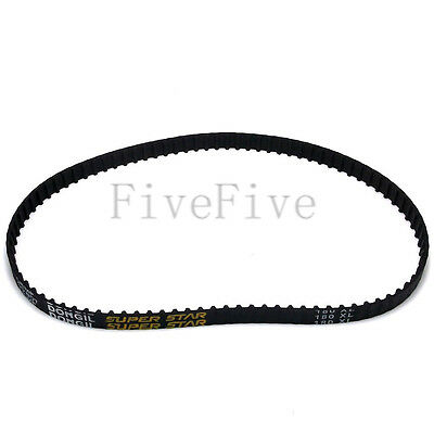 150/156/160/166/170/178/180/188XL 037 Rubber Timing Belt 10mm Width 1/5'' Pitch