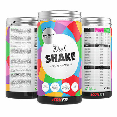 ICONFIT Diet Shake - Healthy Meal Replacement Shake - 715g Tub