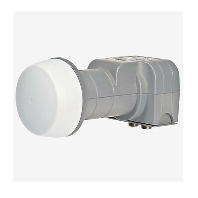 Twin LNB Fuba Dek 206 LNB Digital Full HDTV HD Lnc Lmb 2 Usuarios