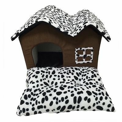 Pet Dog House Beds Kennel Deluxe Small Indoor Dog Cat House Mat Puppy Room