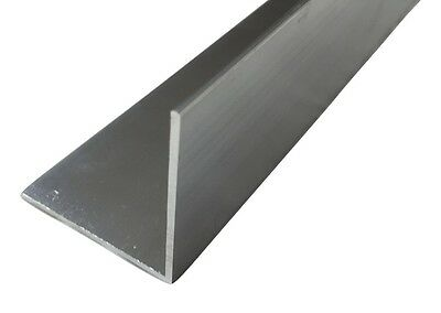 Angle Aluminium Extruded Angle Various Sizes Thickness 2 - 6 mm
