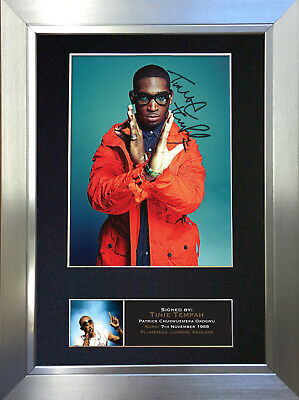 TINIE TEMPAH Signed Autograph Mounted Photo Repro A4 Print no401