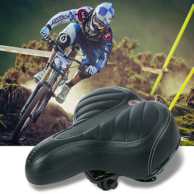 Saddle Seat Wide Bum Bike Bicycle Gel Cruiser Extra Comfort Sporty Soft Pad AUS