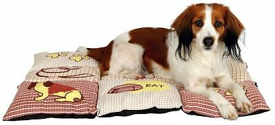Pet Puppy Dog Microfibre Blanket with Woven-in Motifs - 2 Sizes by TRIXIE
