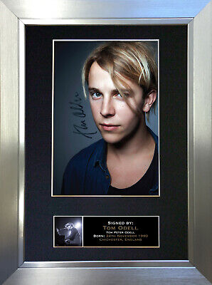 TOM ODELL Long Way Down Signed Autograph Mounted Photo Repro A4 Print no355