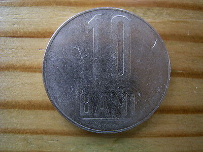 2010  Romania 10 bani coin collectable