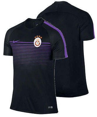 Galatasaray Maillot Entreinment Noir 2016 17 Squad tricot Top