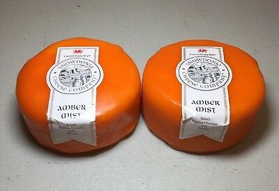 Snowdonia Cheese Company Amber Mist 2 X 200g Mature Cheddar With Whisky