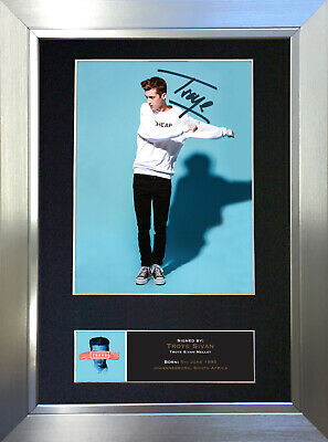 TROYE SIVAN Signed Autograph Mounted Photo Repro A4 Print no521