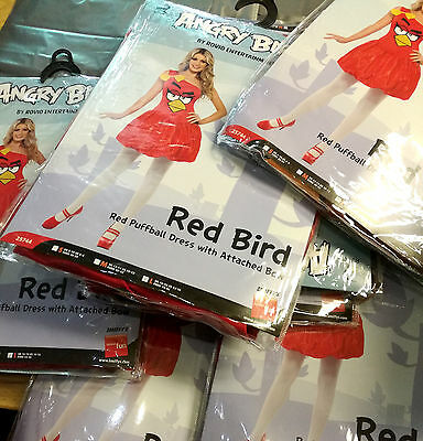 12 x Wholesale Joblot Smiffy's Angry Bird Adult  Fancy Dress Pig Costume Women