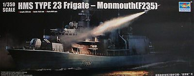 Trumpeter 04547 HMS TYPE 23 Frigate Monmouth F235 1/350