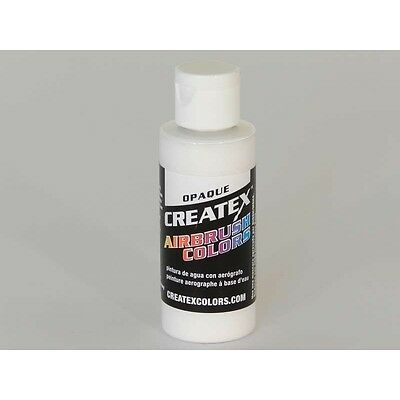 (10,78€/100ml) TOP opaque white Createx Airbrush Colors Farbe 60ml. 11 5212 Crea