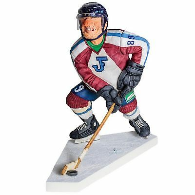 "GUILLERMO FORCHINO ""ICE HOCKEY PLAYER"" Comic Art Figur Professionals - FO85541"