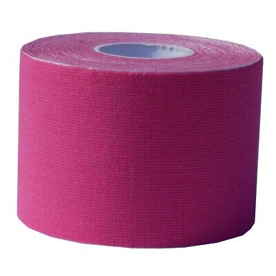 5 Rollen Kinesiologisches Tape - 5 cm x 5 m - pink - Reha - Sport - Physio