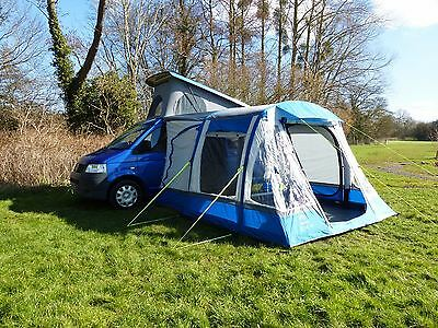 OLPRO Loopo Breeze Air Campervan Drive Away Awning Blue/Grey