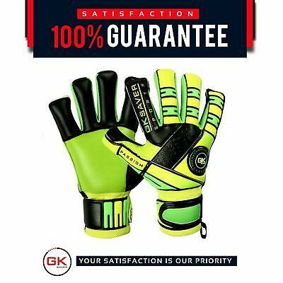 GK Saver Passion Hammer Mix Cut PS05 Hybrid Football Goalkeeper Gloves Size 6-10
