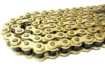 Heavy Duty Non O Ring Gold Chain 415 x130 Quad Motocross KTM 50 Brand New