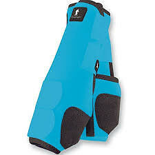 Classic Equine Legacy Boots - Turquoise - Medium Fronts