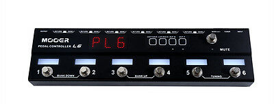 New Mooer PL6 Pedal Controller L6 Programmable Loopswitcher w/ 6 Loops!