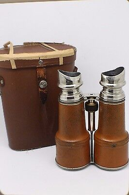 Vintage Antique Sportiere Paris Day & Night Glass France Binoculars JS119