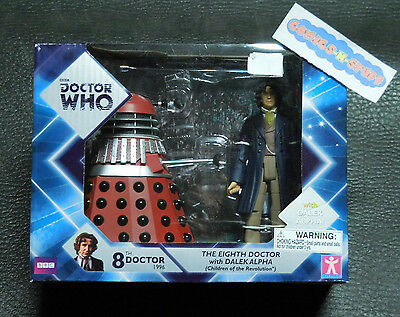 Doctor Who 8th Doctor with Dalek Alpha CHILDREN OF THE REVOLUTION