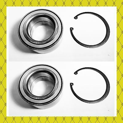 Front Wheel Hub Bearing W/Snap Kits For Ford C-MAX ESCAPE FOCUS PAIR