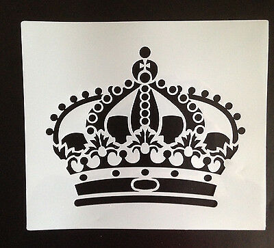 stencil Royal Crown for DIY painting projects, suits for shabby chic style