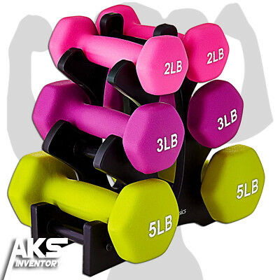Dumbell Weight Set Free Weights Home Gym Fitness Equipment Strength Training New