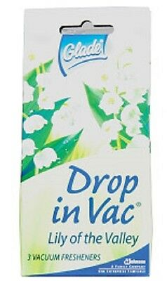 Glade Drop in Vac Lily of the Valley Vacuum Fresheners uk