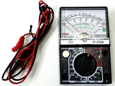 Yf-370A Tenmars Multi Tester Analog Analogue Multi Meter Fuse / Diode Protection