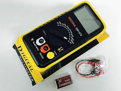 Qm1572 E35491 Full Range Capacitance Digital Multimeter Multi Meter 20Mf Iso9001