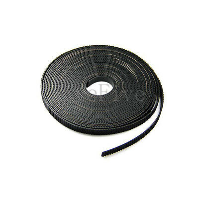 1 Meter Rubber GT2 Timing belt 6/9mm Width 2mm Pitch for 3D Printer Prusa Mendel