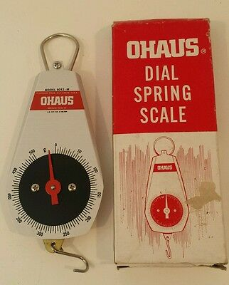 Ohaus 8012-M Dial Spring Mechanical Scale in Original Box with Instructions