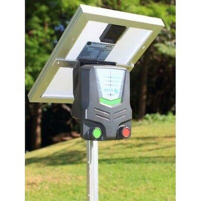 Nemtek 10km Solar Electric Fence Energizer. Brand New