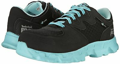 Timberland Women's Powerstrain Alloy Safety Toe Work Shoes 92670--Stock Clerance