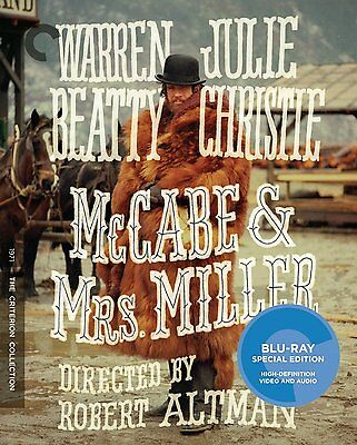 Mccabe & Mrs. Miller Blu-Ray - The Criterion Collection