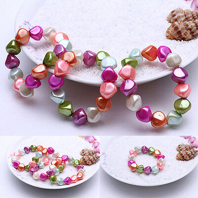 4ps Child Girls Colorful Kids Beaded Jewelry Baby Imitation Pearl Bracelet