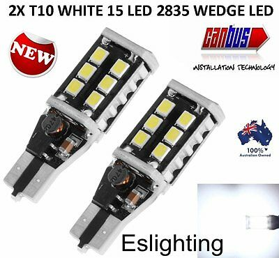 2X T10 T15 Parker Wedge W5W 921 7.5W 2835 Led Light Bulb Canbus Error Free 800Lm