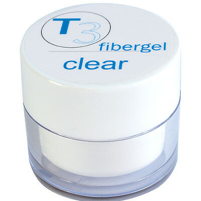 SNB Professional T3 UV  Gel Fibergel Clear 45g /1.58oz