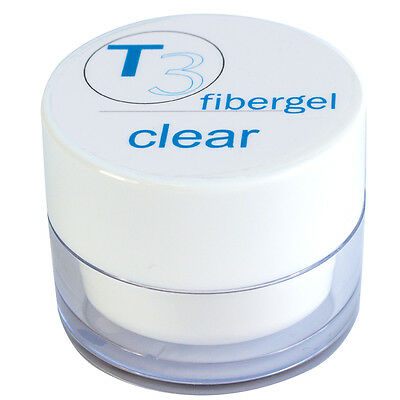 SNB Professional T3 UV  Gel Fibergel Clear 20g /0.70oz