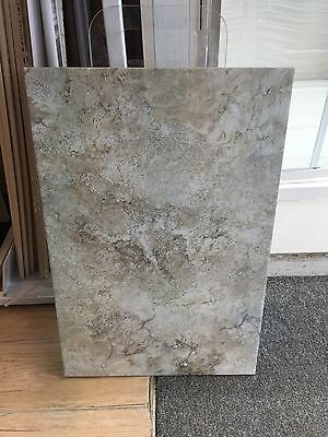 New Mexico Stone Effect Cream/ Grey Porcelain Tiles 40x60cm
