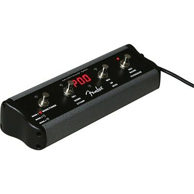 Fender 4-Button Footswitch for Mustang Amps Black LN