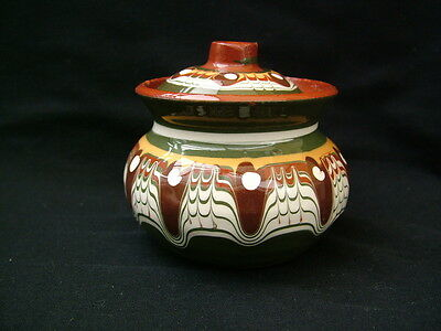 Torquay Ware small lidded pot