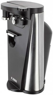 Judge 3-in-1 Electric Knife Sharpener, Bottle and Can Opener - 60W - FREE P&P