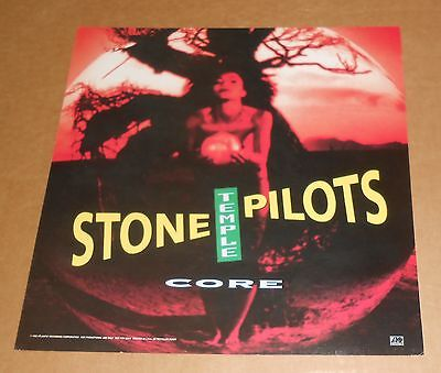 Stone Temple Pilots Core Poster 2-Sided Flat Square 1992 Promo 12x12