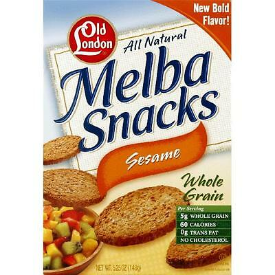 Melba Snck Sesame -Pack of 12