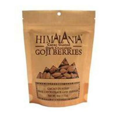 Himalania Cacao Dusted Chocolate Covered Goji Berries 6 Oz. -Pack of 12